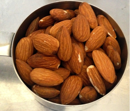 1 cup of almonds