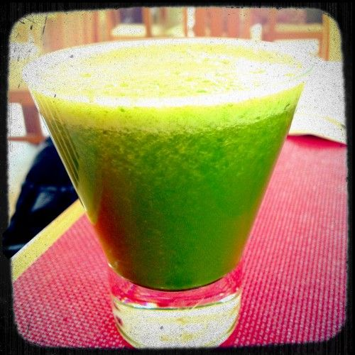 cucumber fennel mint juice