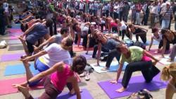 Yoga in Gezi Park