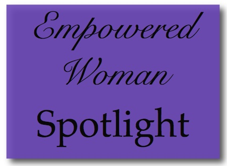 Empowered Woman Spotlight Graphic