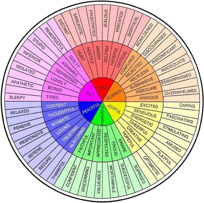 feelings-wheel