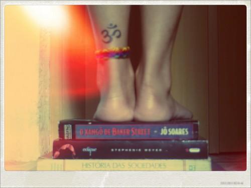 Livros e equilíbrio!
