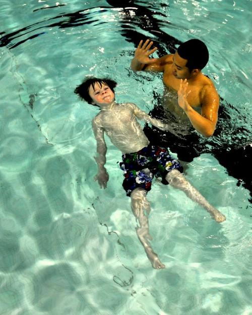 swim parenting