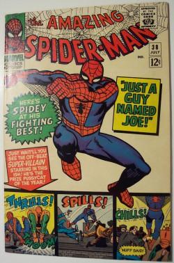 Vintage Comic Book - Amazing Spider-Man #38
