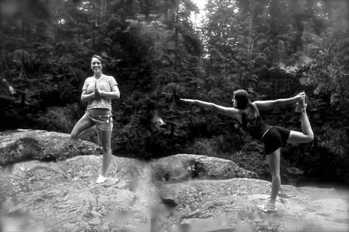 girls yoga
