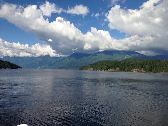 Earls Cove BC Mountain Lake