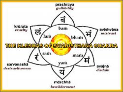 Kleshas of Svadisthana Chakra