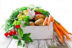good bacteria box of vegetables image