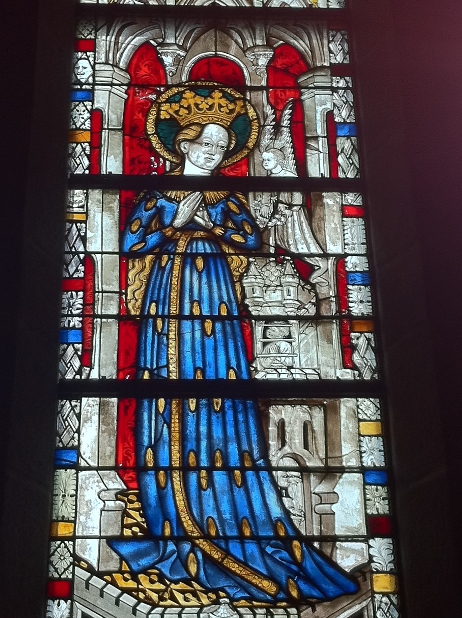 Mary in Ahrenkleid, The Cloisters (by Laura Miller)