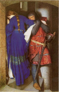 Frederic_William_Burton_-_Enlarge_Image_Frederic_William_Burton_Irish,_1816-1900_Hellelil_and_Hildebrand,_the_Meeting_on_the_Turret_Stairs_-_1864