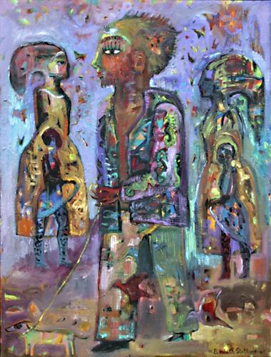 """""""Urban Buddha"""" by Elisabeth Slettnes"""