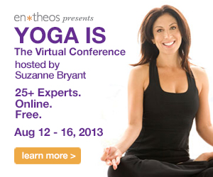 Yoga Is banner ad