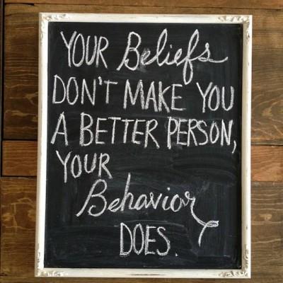 Your beliefs