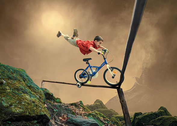 risk kid bike