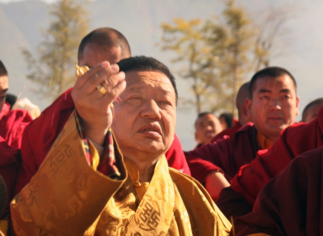 Akong Rinpoche; permission to use from Chico Dall'Inha