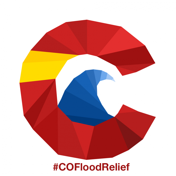 Support Colorado Flood Relief with a sweet Made In USA T