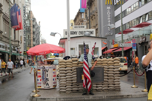 Check Point Charlie circus