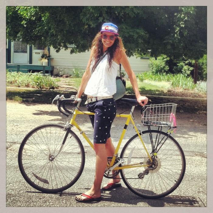 #BikeStylish Day 11 (Happy 4th of July)