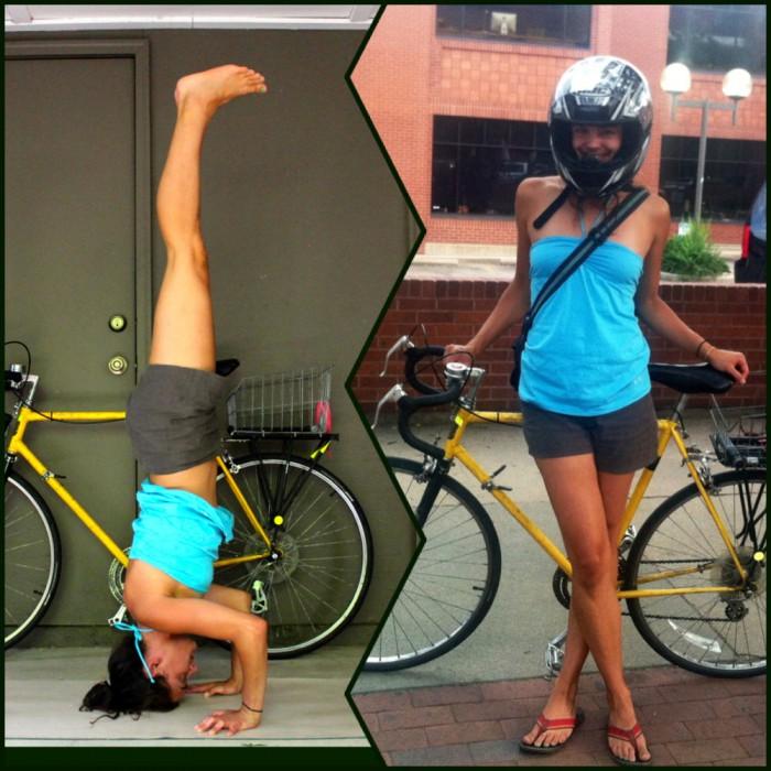 #BikeStylish Day 13 (Inversions & Helmets)