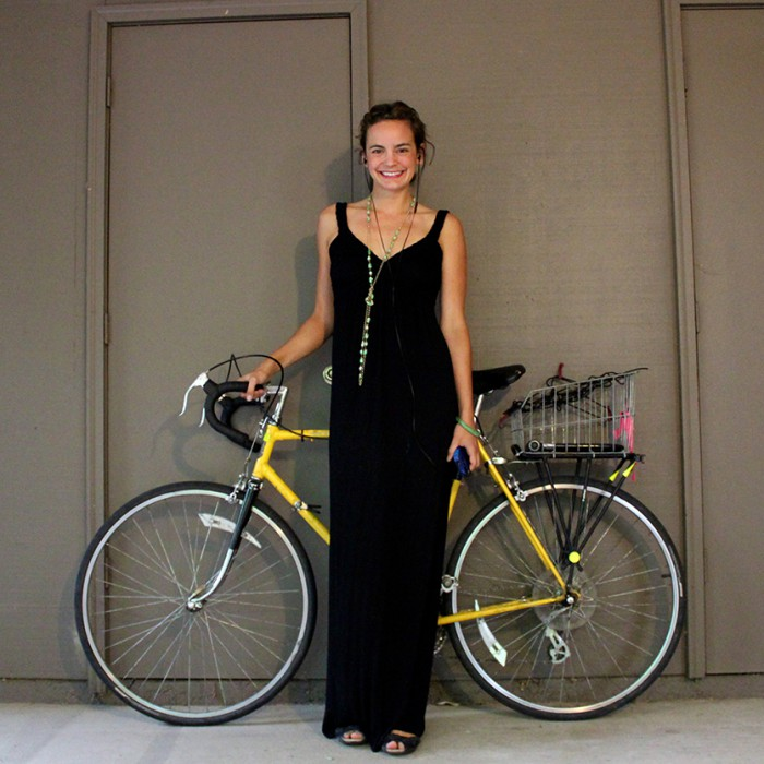 Jeanne Eisenhaure #BikeStylish Day 25