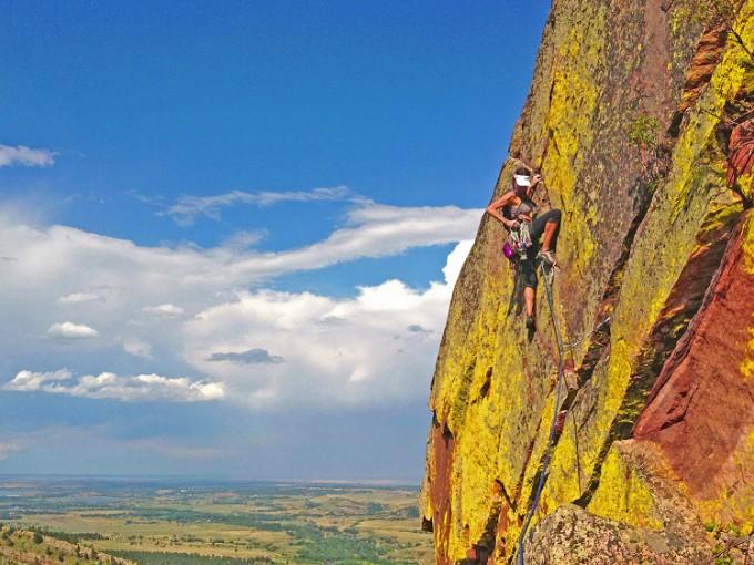 Jill Wheeler.Climb
