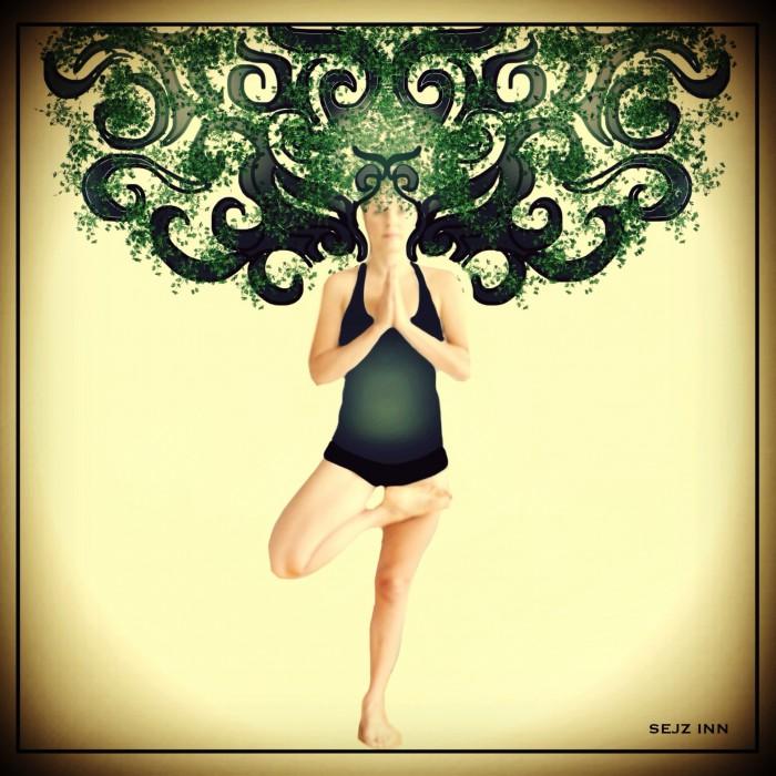 Tadasana: Tree pose