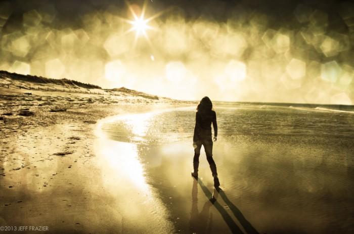 Walking the Shoreline, by Jeff Frazier.