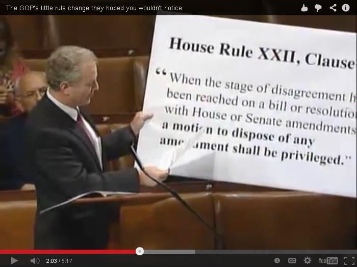 GOP house rule screenshot