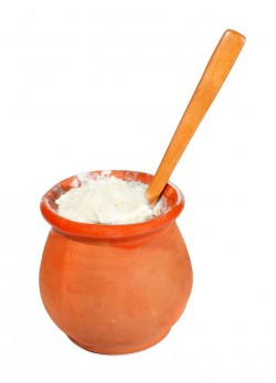dairy-test-yogurt-in-clay-pot-image