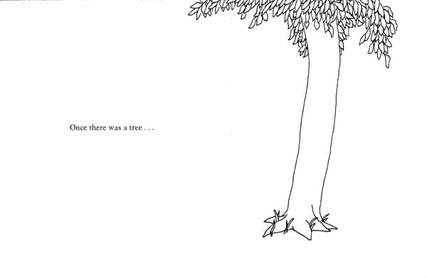 Image from The Giving Tree by Shel Silverstein