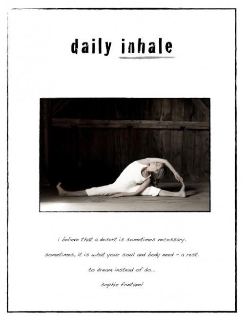 daily inhale
