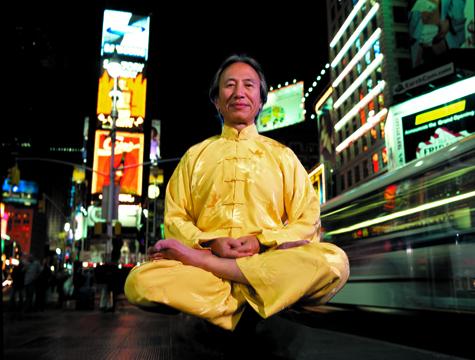 Chu Tai Chi Times Square Meditator
