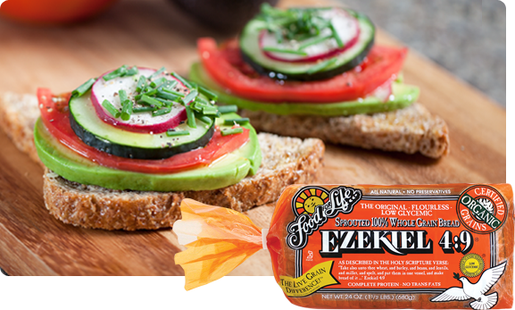 healthy breakfast bread toast