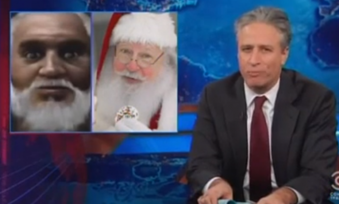 santa black jon stewart war christmas turkish
