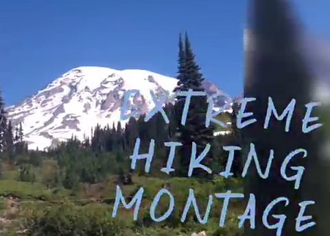 exteme hiking montage