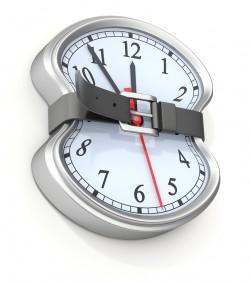 natural laxatives belt on clock image