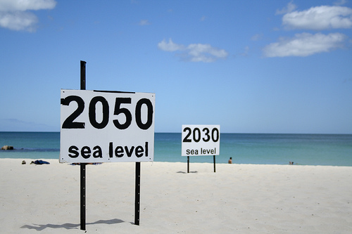 sea level signs