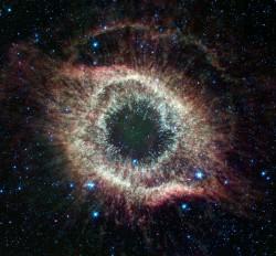 Helix_Nebula universe space stars