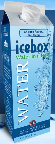 Icebox water