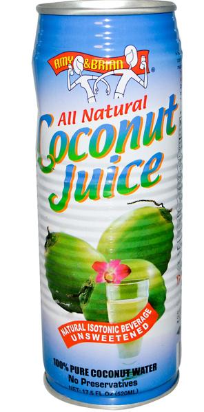 Amy & Brian's Coconut Juice