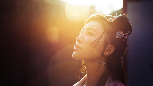 beautiful chinese lady