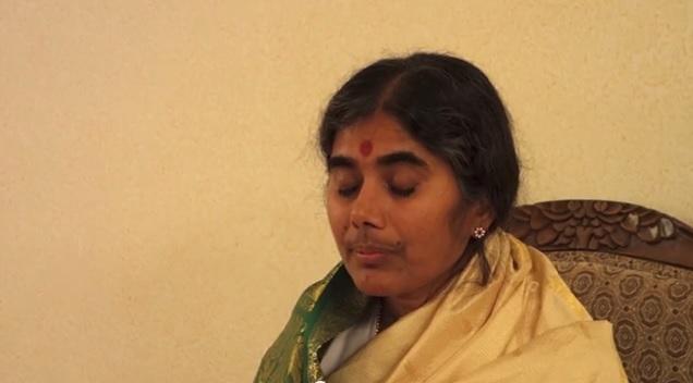 Mother meera blessing darshan