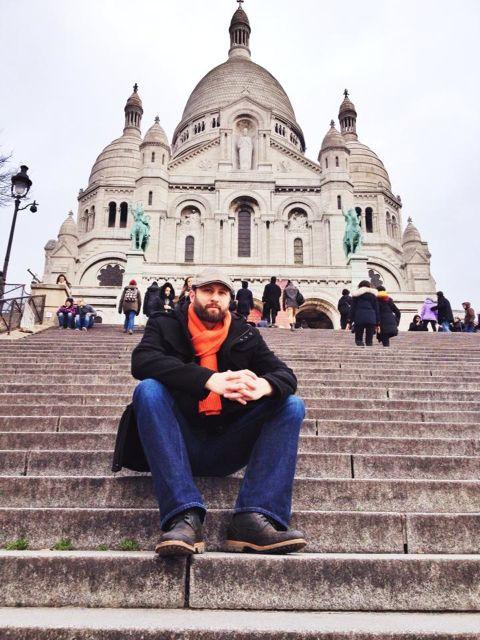 Sacre Couer de Monmarte, Paris 1