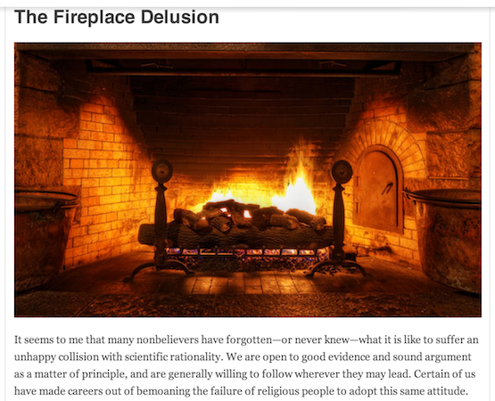 atheism fireplace lungs health