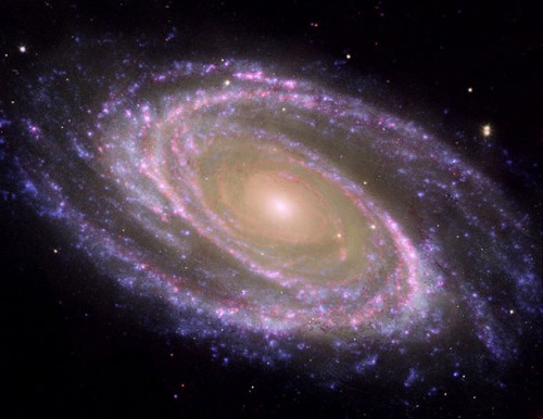 space purple NASA galaxy hubble picture