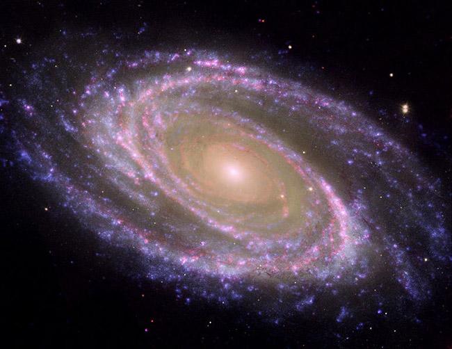 purple NASA galaxy hubble picture