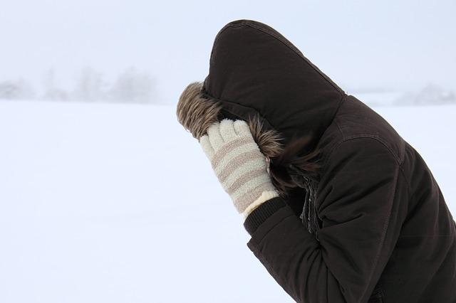 cold blizzard winter wind