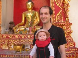 Daniel and Gabriel Goldsmith golden Buddha