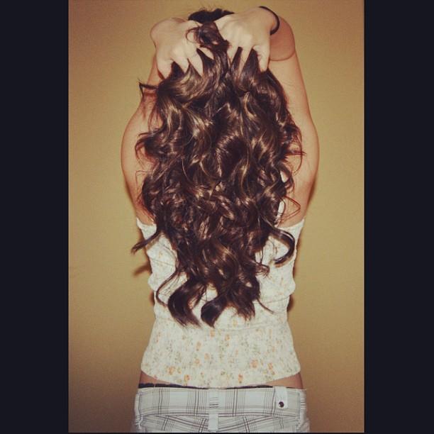 hair back woman lady