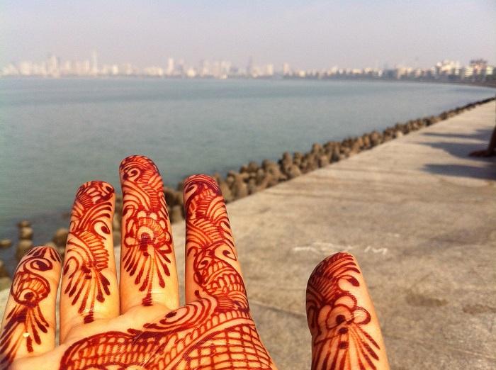 henna hand by Sonal Batavia